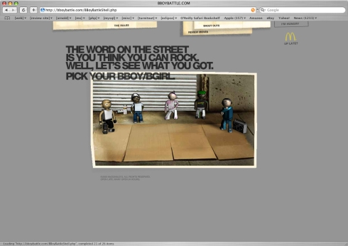 Bboybattle.com Homepage