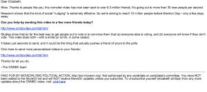 Moveon.org CNNBC email