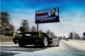 Xbox Live Video Game Barack Obama Ad