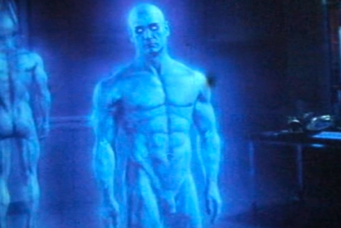 Dr Manhattan Blue Penis