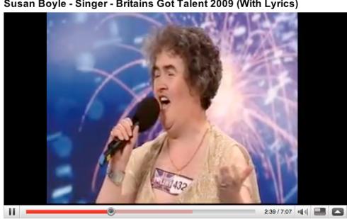 Susan Boyle, the new superstar