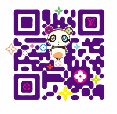 Louis Vuitton's new QR code by Set
