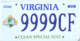 Virginia Clean Fuel Plate $10