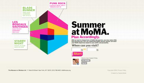 MOMA Summer Planner