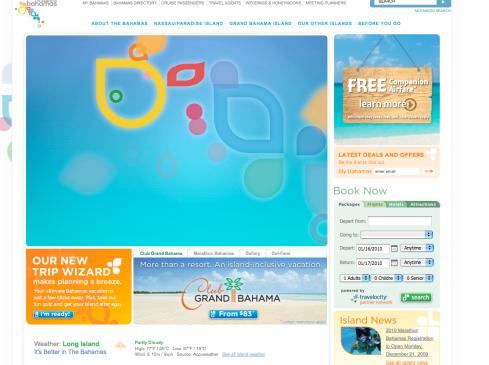Bahamas.com Flash Intro