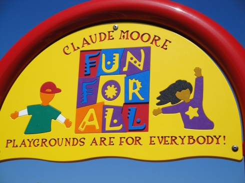 Claude Moore Fun For All Playground